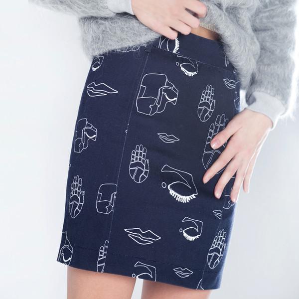 Stine Goya Tile Skirt
