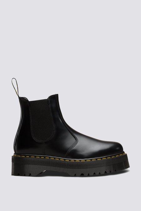 UNISEX Dr. Martens Smooth Leather 2976 Platform - Black