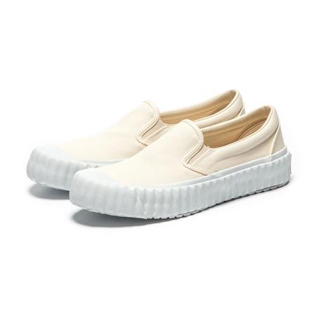 Excelsior Screwman Slip-on Sneakers - Cream White