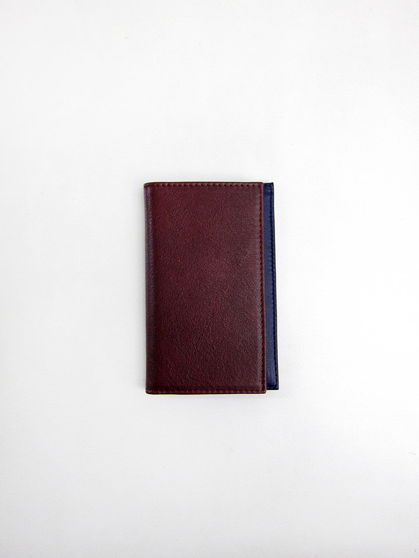 Tsatsas Cream Type 7 Wallet, Bordeaux