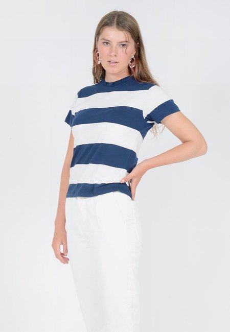 27a30072081d ... Rollas Big Stripe T-Shirt - Vanilla Navy