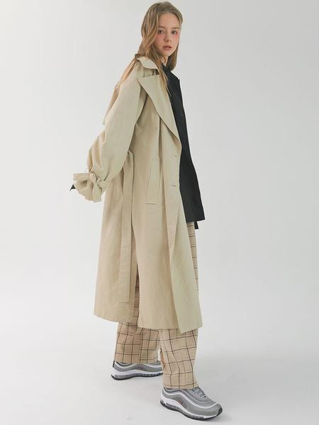 CHORRD Over Trench Coat - Beige