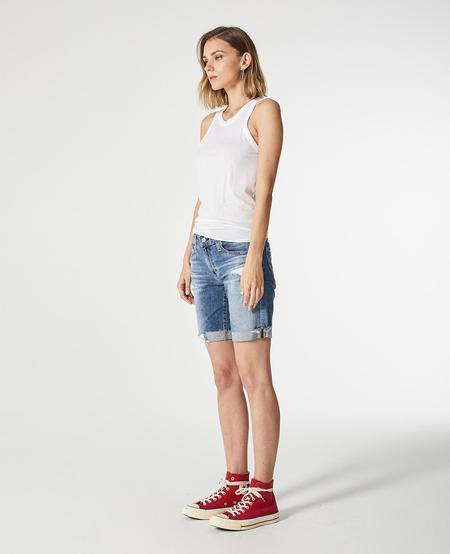 AG Jeans Nikki Short - 16 Year Indigo Deluge