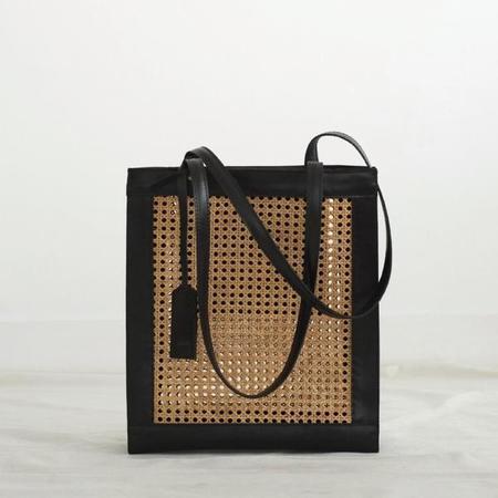 INNÉ Studios Sia Shopper Tote - Black