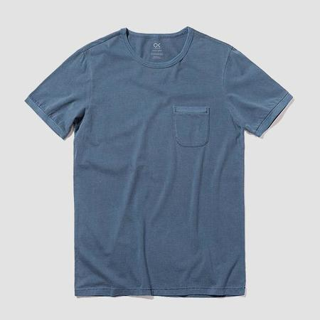 Outerknown Sojourn Pocket Tee - Pacific