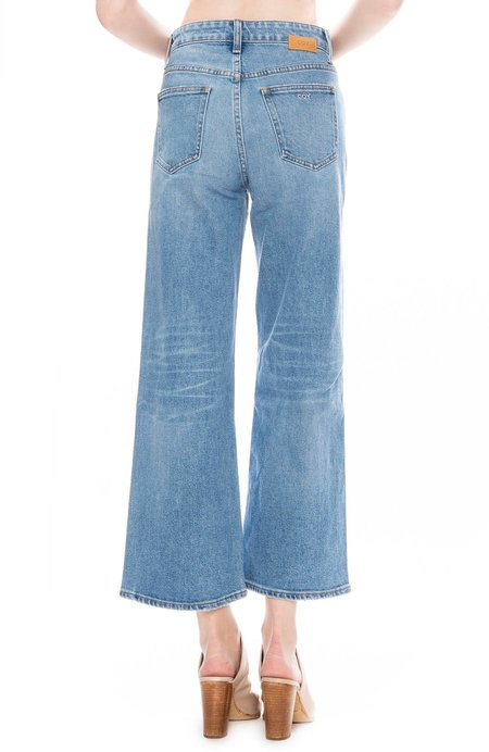CQY Sunday Wide Leg Cropped Jean - Dream
