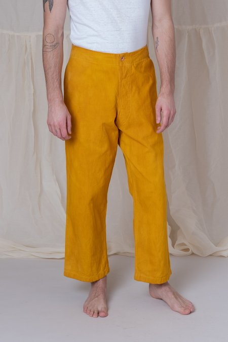 Story Mfg. British Jeans - Jackfruit Yellow