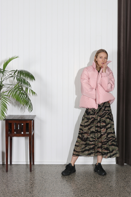 Ganni Whitman Puffer Jacket - Pink