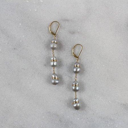 Dana Kellin Pearl Bundle Earring