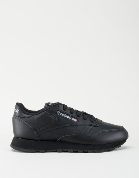 Reebok Classic Leather Sneakers - Black