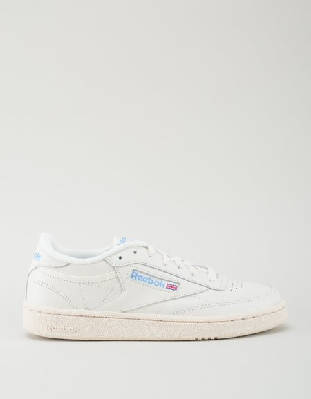 Reebok Denim Glow Club C 85 Vintage Sneakers - Classic White