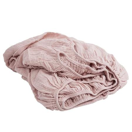 Moumout Paris Crib Fitted Sheet - Nu Pink