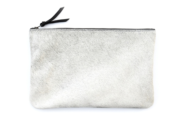 Primecut LIGHT GREY OVERSIZED CLUTCH