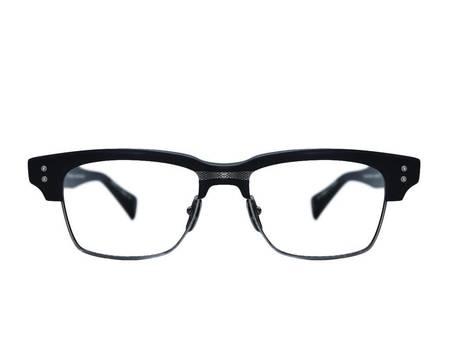 DITA Grand Reserve Two Glasses - MATTE BLACK/SILVER