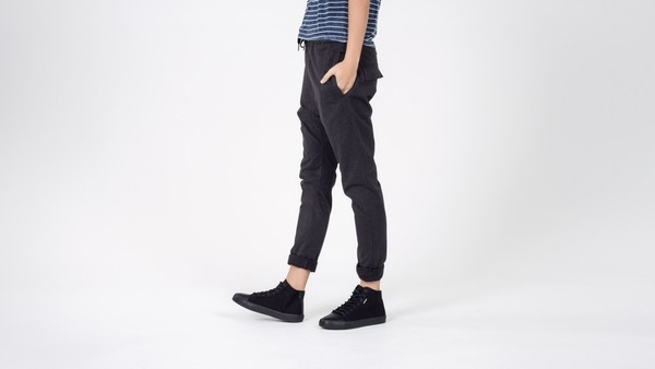 Unisex Zanerobe DROPSHOT CHINO CHARCOAL PANTS