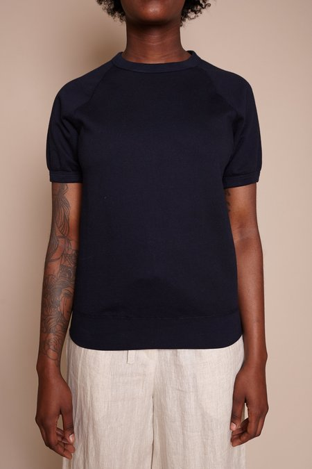 Save khaki United Crew Sweatshirt - Navy