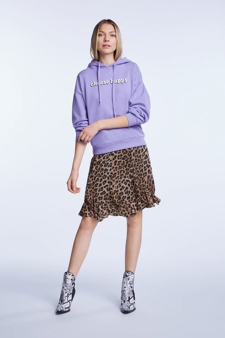 SET Ruffle Skirt - Leopard Print
