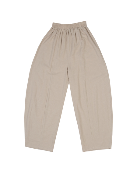 Ilana Kohn Abe Pants in Oat Cotton