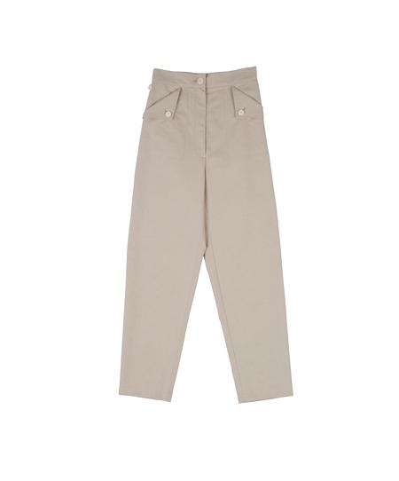 Ilana Kohn Huxie Pants in Oat Ctn/Linen