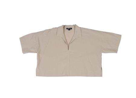 Ilana Kohn Leon Shirt in Oat Cotton