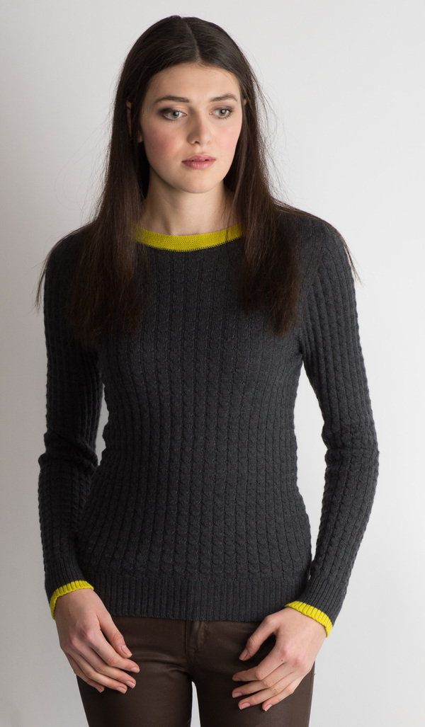 Erdaine Cable knit sweater