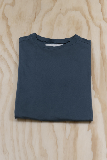 V :: ROOM Egyptian cotton jersey short sleeve crew t-shirt - Dark Slate