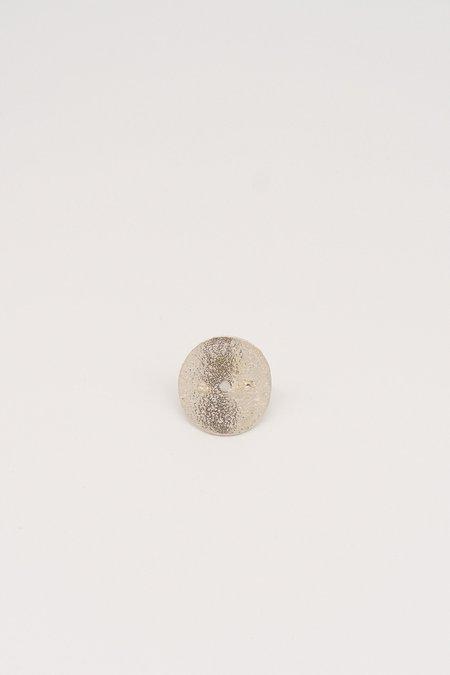 Erin Considine Circle Marl Ring - Silver