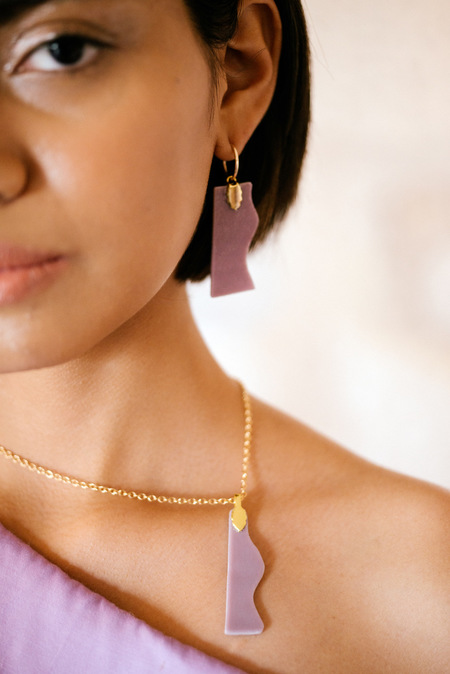 Eyde The Kat Earrings - 14k Gold
