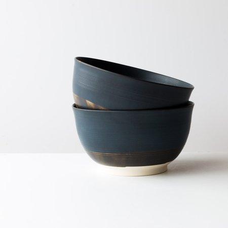 Gaële Dufaux-Mathieu Serving Bowl - Blue/White