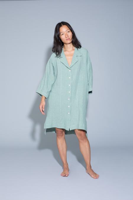 Ilana Kohn Harrison Dress in Jade Linen