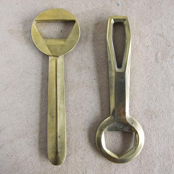 cast brass bottle openers