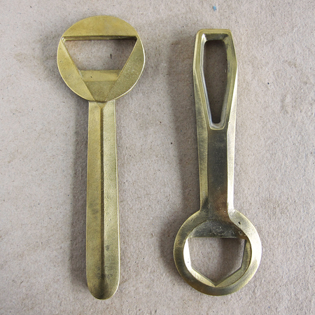 cast brass bottle openers