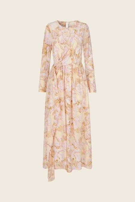 8b38d7df32d ... Stine Goya Brittany Silk Dress - Hortensia Floral