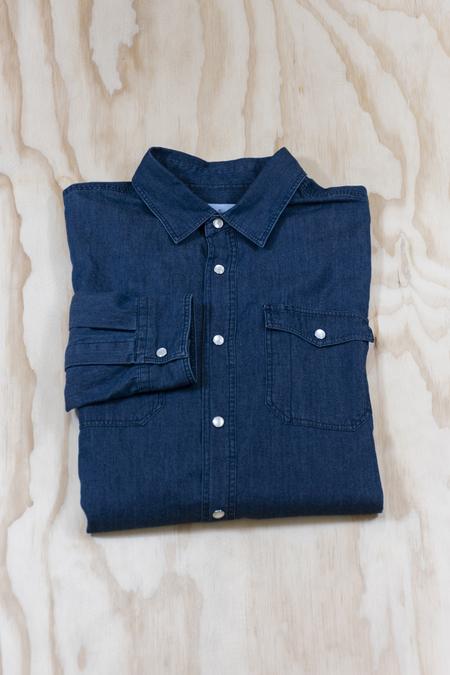 Cuisse de Grenoille Denim Button Up Shirt