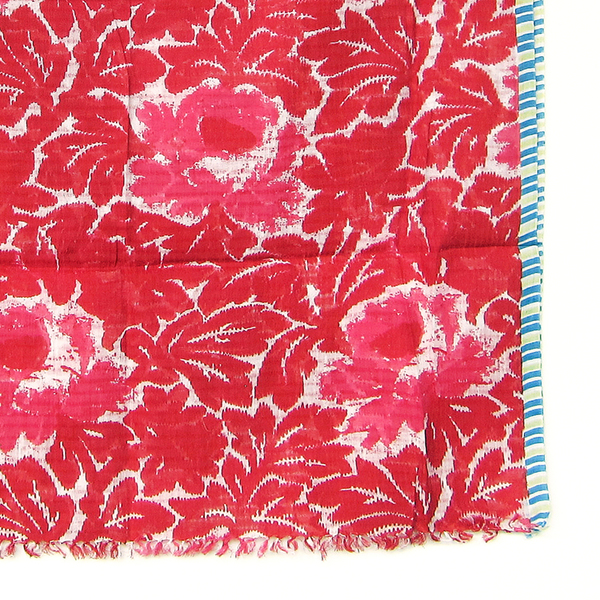 Épice red flower scarf