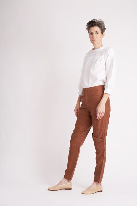 Built by Wendy Snap Pocket Pants - Tobacco