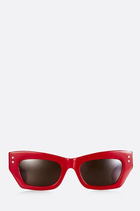 Pared Petite Amour Sunglasses - Red