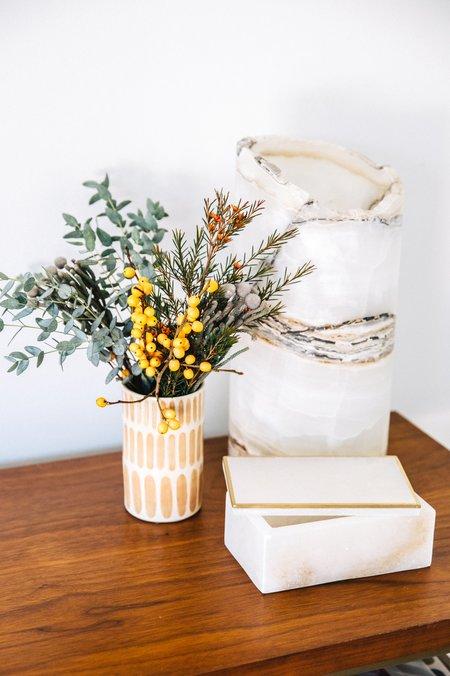 Roost Alabaster Trinket Box