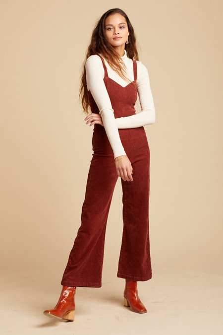 71f46caabb37 Lacausa Rosie Jumpsuit - Brick Lacausa Rosie Jumpsuit - Brick