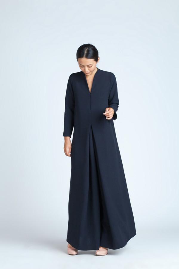 Kaarem Black Blue Long Sleeve Onesie
