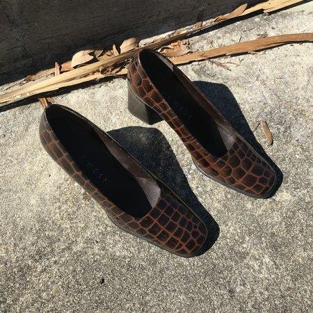 Horizons Vintage Nine West Croc Heels