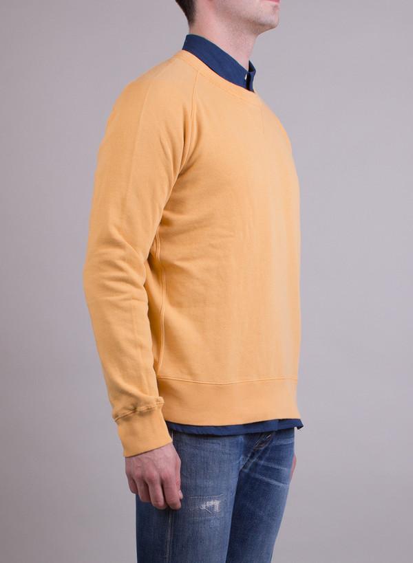 Men's Levi's Vintage Clothing 1950's Crew Sweatshirt Gold