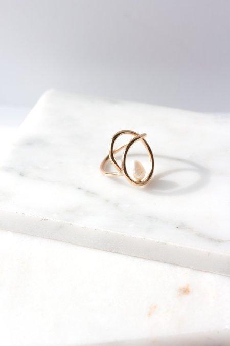 Laura Estrada Perla Ring - 14k gold filled