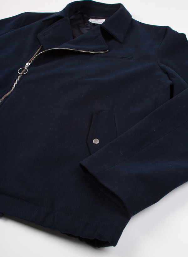 Men's Hentsch Man Asymmetric Jacket Navy