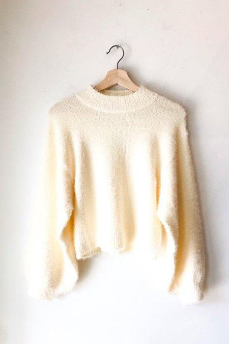 Cotton Candy LA Jules Sweater - Ivory