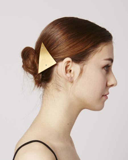 Sylvain le Hen Hair clip - Gold