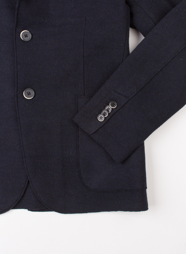 Men's Barena Jacket Cison Navy