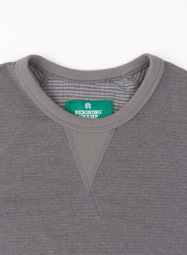 Men's Reigning Champ Knit Lightweight Powerdry S/S Crew Stone