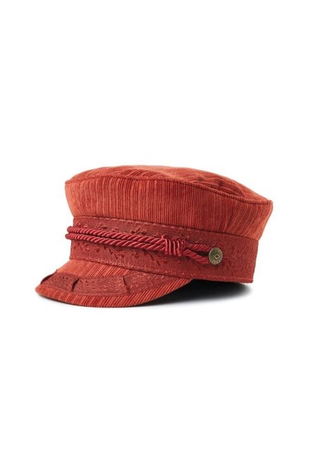 Brixton Clay Albany Cap - Red