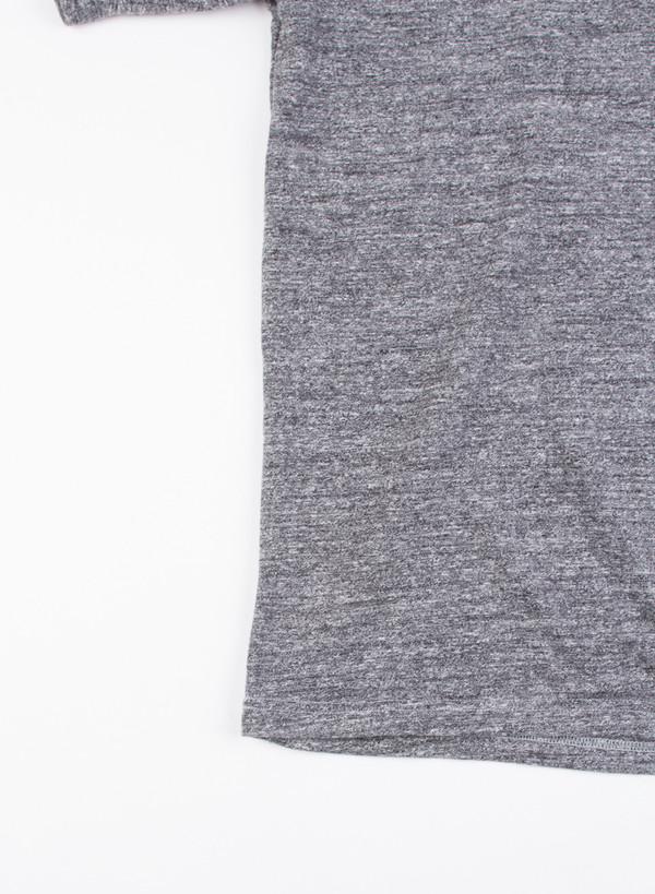 Men's National Athletic Goods V Pocket Tee Mock Twist Dark Grey